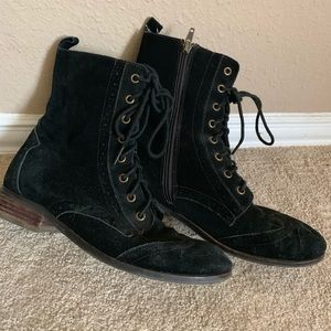 dolce vita combat boots